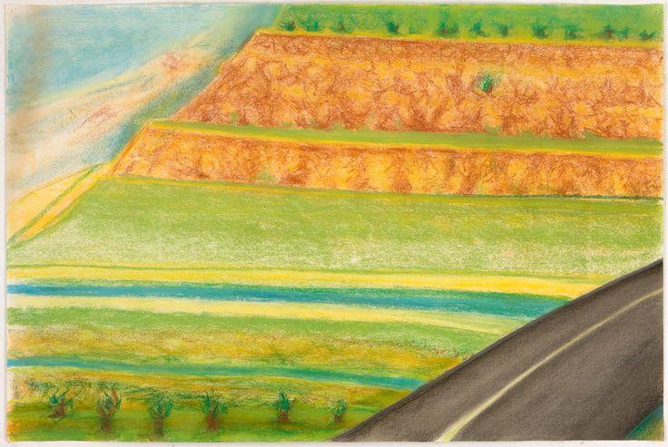 Richard Artschwager, 'Diagonal Road with Mesa', 2009