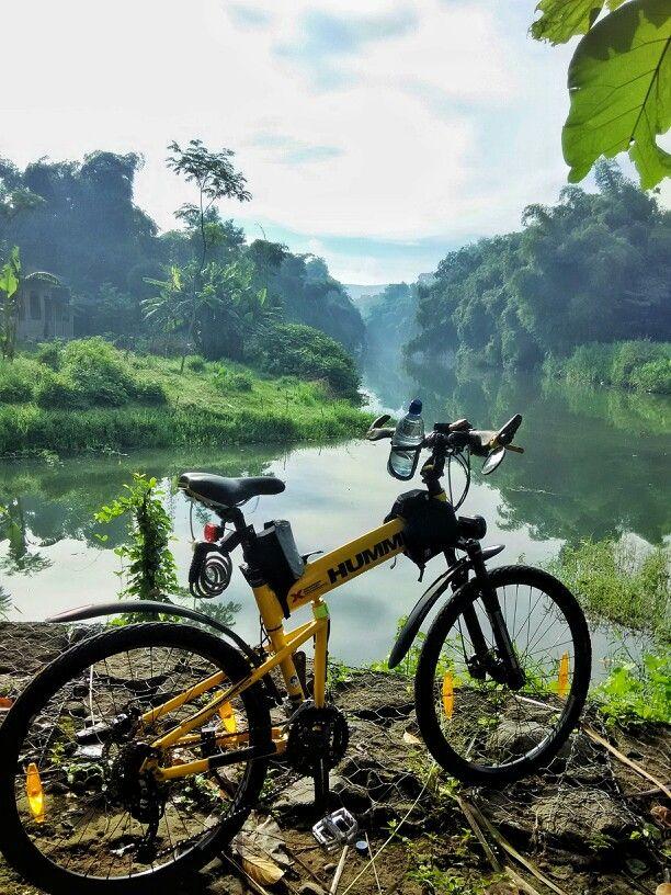 Di pertemuan Sungai Gajahwong dan Opak , Bantul D.I. Yogyakarta
