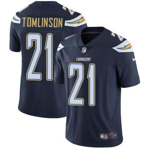 Nike Chargers #21 LaDainian Tomlinson Navy Blue Team Color Men's Stitched NFL Vapor Untouchable Limited Jersey
