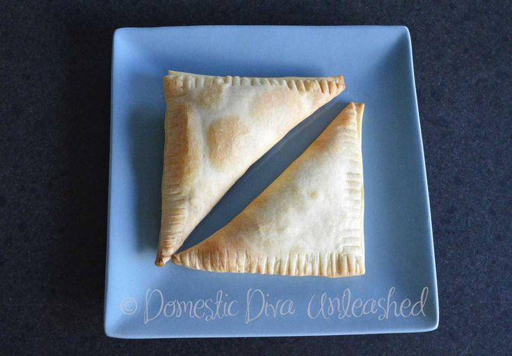 Domestic Diva: Meat Filled Triangles
