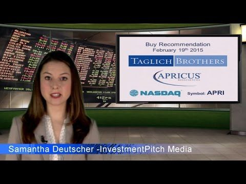Taglich Brothers has initiated coverage on Apricus Biosciences (NASDAQ: ...