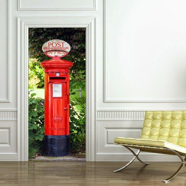 1000 images about decorar las puertas con fotomurales on - Restaurar puertas antiguas ...