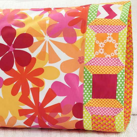 Quilt Patterns Pillowcases : 26 best Quilting & Sewing - Pillowcase images on Pinterest