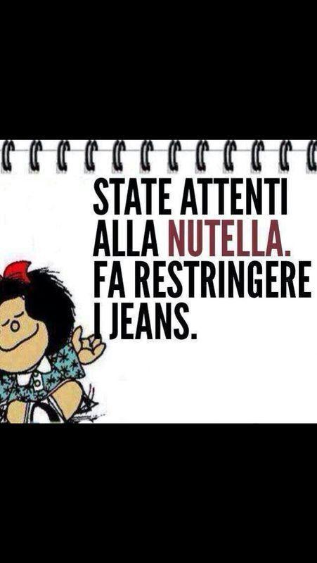 Mafalda e la nutella