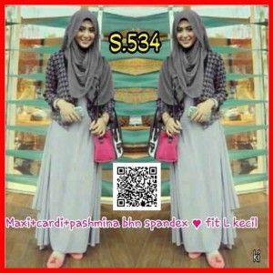 baju muslim modern murah  s534
