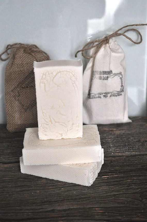 White Basic SoapVegan Soaphomemade soapnatural by VintagesqueSoap