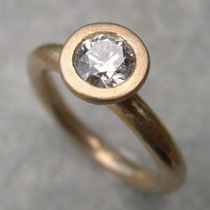 Diamond Engagement Ring With A 5mm By Sue Yeoman And Michael Jefferies Rings Ukhandmade