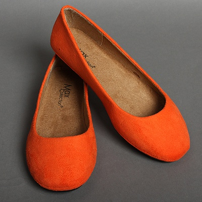 Love the orange suede $11.50