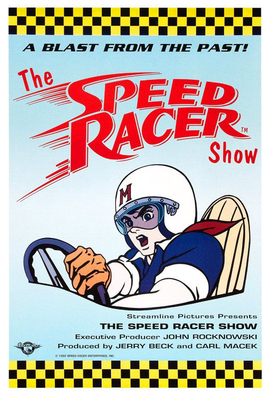 Hey, I found this really awesome Etsy listing at https://www.etsy.com/listing/161440053/speed-racer-cartoon-poster-print-13x19