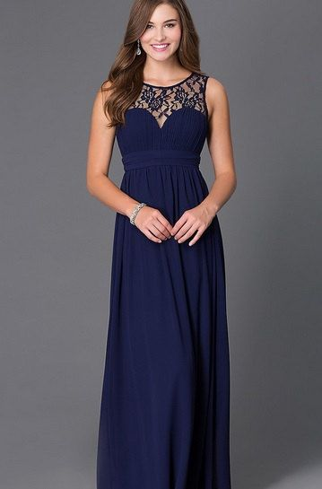 25  best ideas about Lace chiffon on Pinterest | Blue lace prom ...