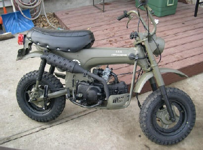 Custom military themed CT70