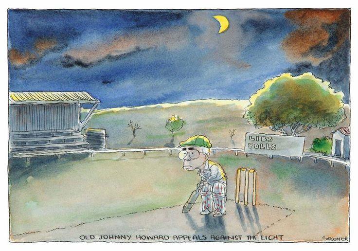 Old Johnny Howard appeals against the light, John Spooner, 2007 (supplied)