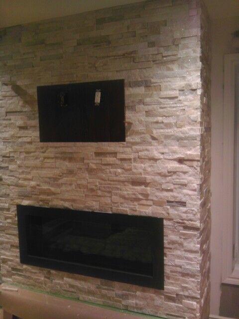 White Quartz Fireplace House Pinterest White Quartz