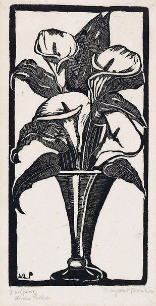 woodcut, Australia moderns, Margaret Preston