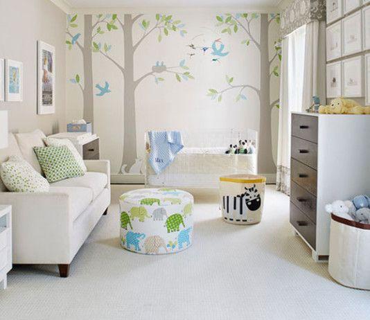Erkek Bebek Odaları Dekorasyon Fikirleri
