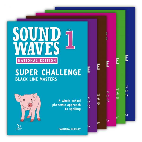 Sound Waves Super Challenge BLM. Sound Waves is the only whole school phonemic word study program written by Australian teachers, for the Australian Curriculum and based on the sounds of Australian English.