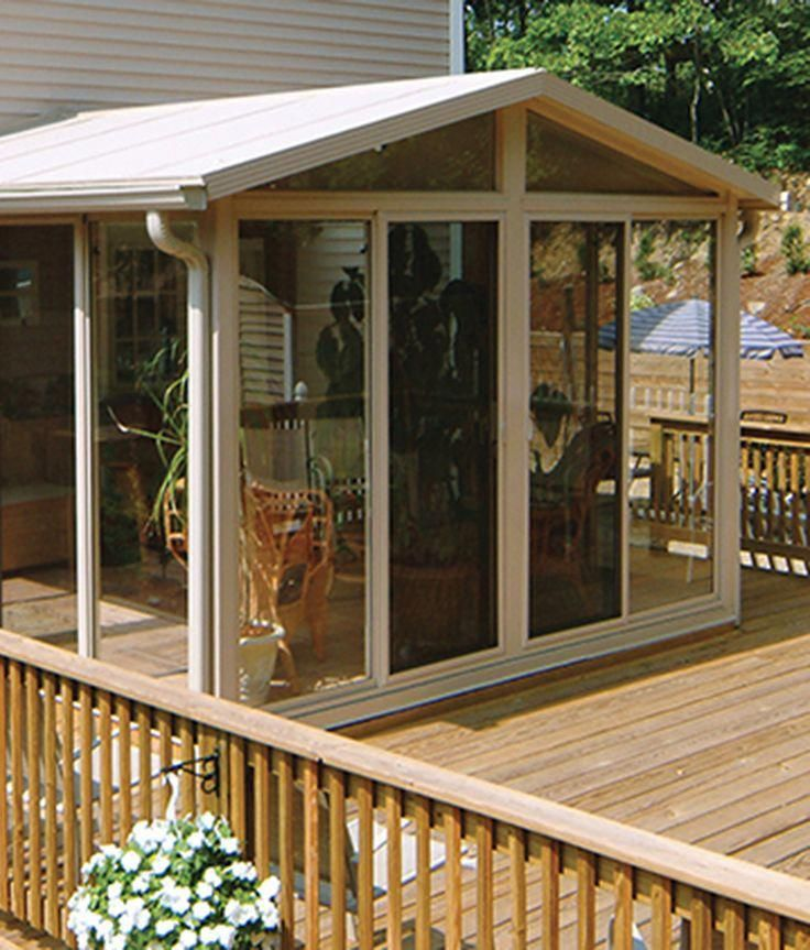 The Easyroom Sunroom Kit Allows You To Save On Labor Costs Which Makes A Addition An Affordable Way Increase Overall Value Of Your Home