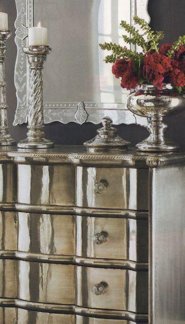1000 Images About Silver Leaf Furniture On Pinterest