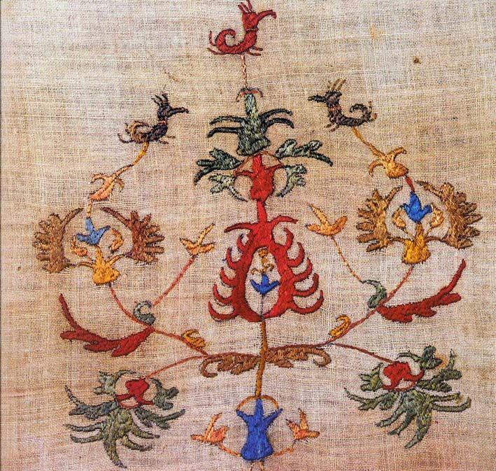 Skyros embroidery