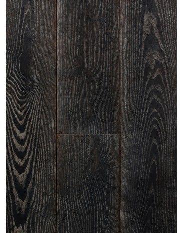 Zwart gebeitst eiken houten vloer 5280