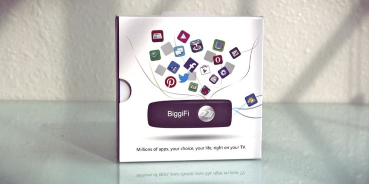 BiggiFi Android TV Stick Review and Giveaway