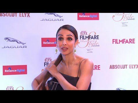 Salman Khan's BHABHI Malaika Arora at Filmfare Glamour & Style Awards 2015.