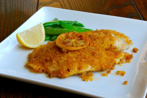 Panko crusted tilapia recipe a well jazz and dinner for Panko fried fish