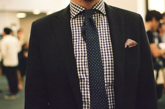 Suit Swag - love the textures