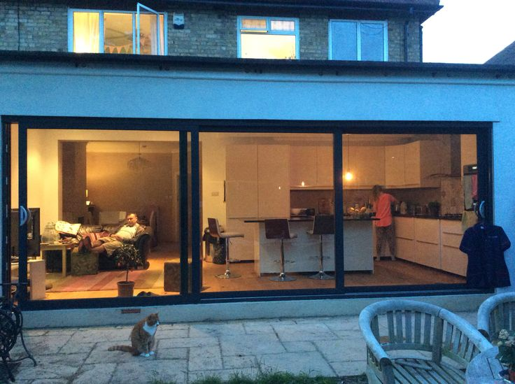 Our new 4 metre extension on our 30s house...