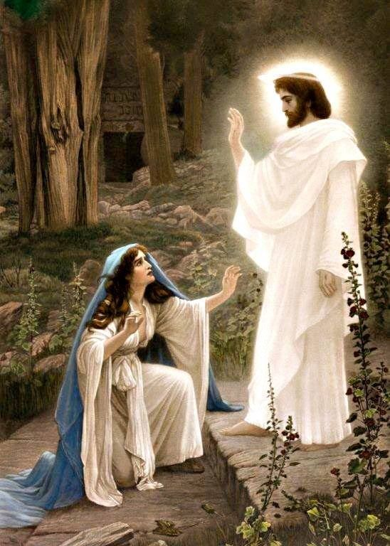 The risen Lord...