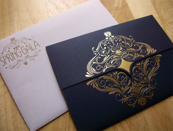 92Y Spring Gala Invitation 2013 (have this design printed on the back of the envelope)