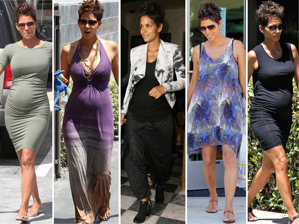 Street Style Star Of The Week: Halle Berry-I am not pregnant but this Chica can dress!