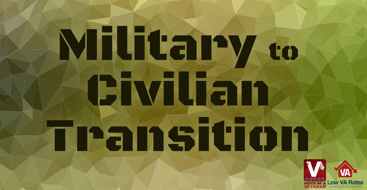 Transitioning back and forth between military and civilian life can be tricky. Some who enlist aren't able to handle the challenges of basic training, while settling down into a civilian life with a civilian job is hard for many veterans