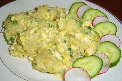 Jak udělat chlupaté knedlíky s vajíčky | recept