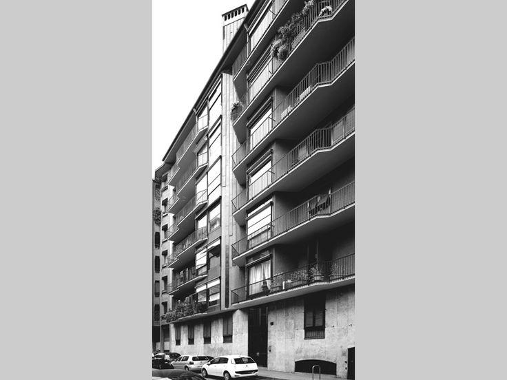 Edificio per abitazioni - Luigi Caccia Dominioni - itineraries - Ordine degli architetti, P.P.C della provincia di Milano