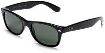 The New Wayfarer from Ray-Ban updates their iconic sunglass silhouette with a slightly smaller, more rounded shape. The end result is a contemporary look that still oozes throw-back style. Color options abound whether youAAAre looking for classic or funky, and the crystal-clear optics provide a visual experience that is distinctly Ray-Ban.