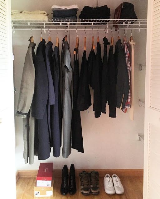 127 best images about paris to go on pinterest beauty routines city guides and travel capsule - Wardrobe for small spaces minimalist ...
