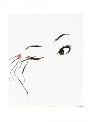 Eyeliner Poster -  Garance Dore  Garance Doré is an illustrator, photographer and fashion blogger. Her illustration talent has allowed her to collaborate creatively with Vogue Paris, Dior, Chopard, Louis Vuitton, Reed Krakoff, Kate Spade, Céline and many others. Her work has been featured in exhibitions in London, New York, and Sydney.