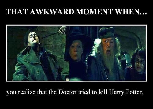 oh...it was probably a fixed point in time; therefore the doctor had to do it