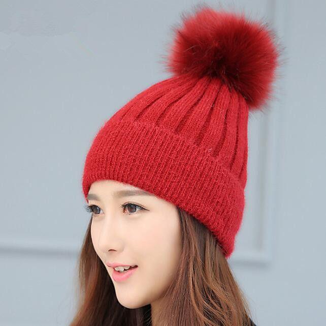 $9.40 (Buy here: https://alitems.com/g/1e8d114494ebda23ff8b16525dc3e8/?i=5&ulp=https%3A%2F%2Fwww.aliexpress.com%2Fitem%2FFur-Pompom-Ladies-Knit-Wool-Winter-Women-Man-Beanie-Knitted-Skullies-Unisex-look-Lovers-cap%2F32780202517.html ) Fur Pompom Ladies Knit Wool Winter Women&Man Beanie Knitted Skullies Unisex look Lovers' cap for just $9.40