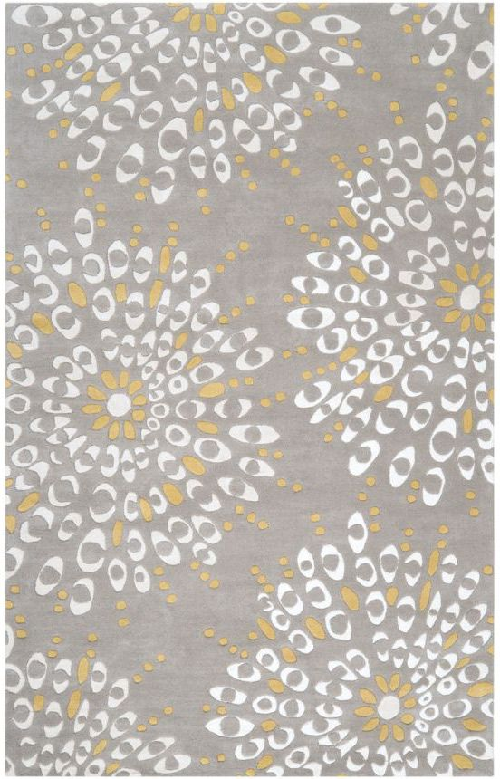 Surya Naya Ny5170 Gray Rug I M Falling In Love With The Idea Of A We Are Getting Yellow Chair And Like