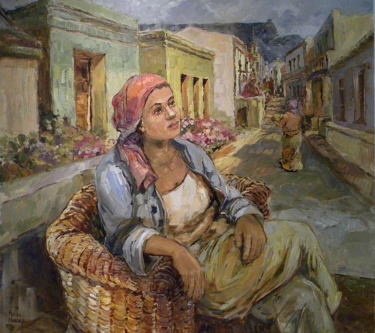 Aviva Maree, Stoepsit; Art & Wine, Clarens