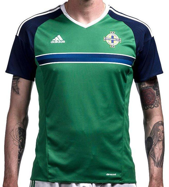 Northern Ireland Euro 2016 Home Kit Released - Footy Headlines