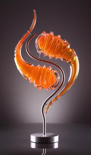 "*Art Glass - ""Amalgam Terra"" by Kerrick Johnson"