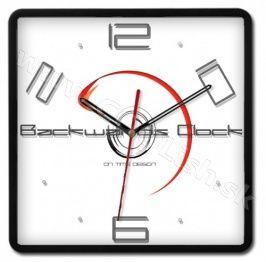 Opačné hodiny - hodiny v protismere Modern