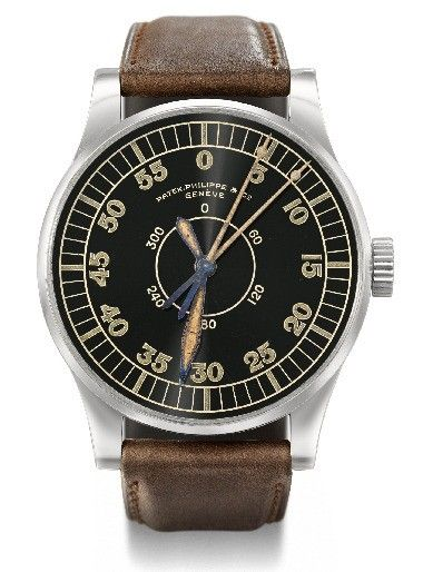 c.1936 Patek Phillipe, Navigational Timepiece, most likely the only example produced.