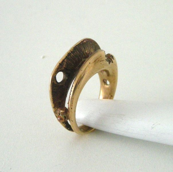 Anello in bronzo di Loreart - Creare gioielli è un'arte su DaWanda.com
