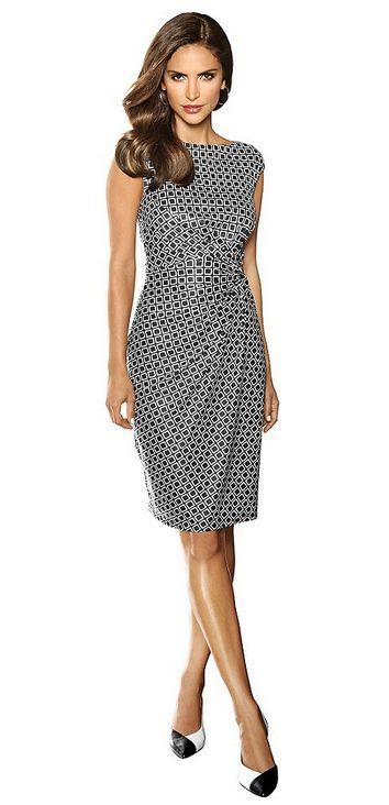 Figurbetontes Kleid von #Alba #Moda #AlbaModa