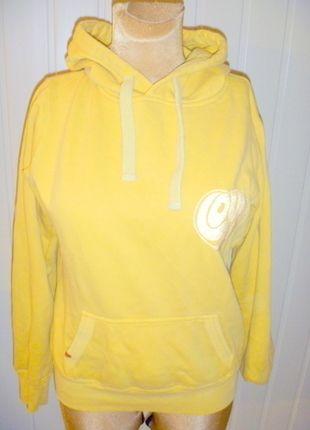 Kup mój przedmiot na #vintedpl http://www.vinted.pl/damska-odziez/bluzy/11133515-zolta-pastelowa-bluza-kangur-z-kapturem
