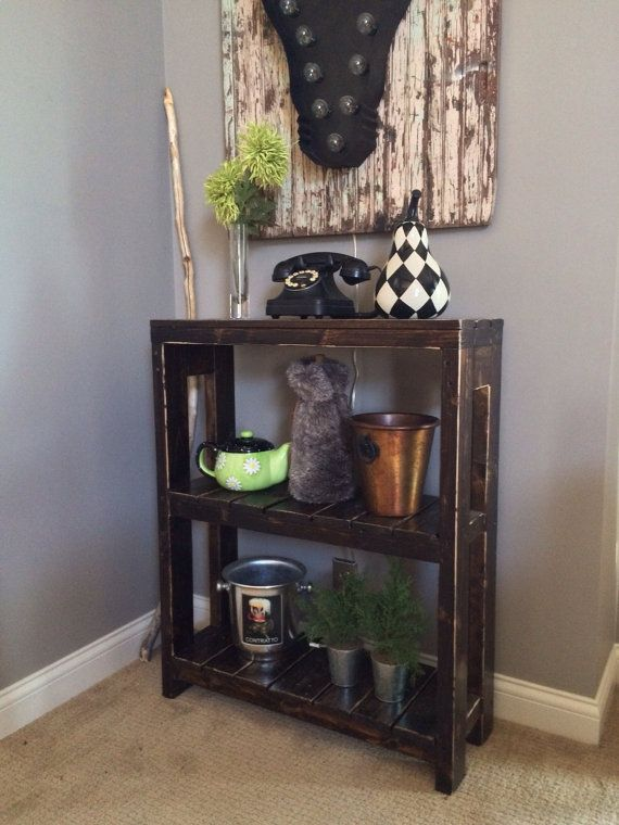 Annie Reclaimed Wood Bookcase  30W X 11D X 36H by knottypallet